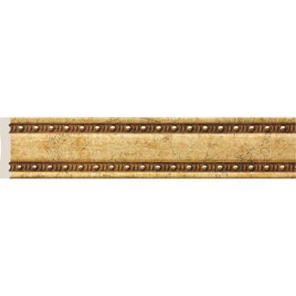Interior moulding Cosca Wall border 40, antique gold, W40/G327
