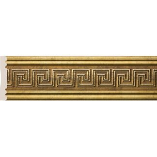 Interior moulding Cosca Wall border 80-3 Meander, antique gold, W1080-3/G327