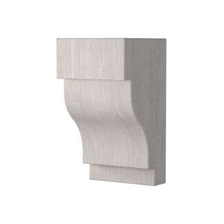 Corbels for faux beam 150х120mm, white