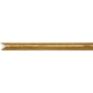 Interior moulding Cosca Angle 18, antique gold, C1018/G327