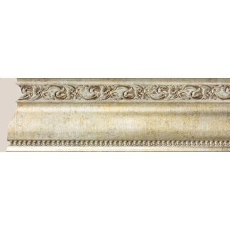 Interior moulding Cosca Ceiling skirting board 60, antique platinum, 161-553