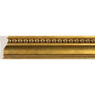 Interior moulding Cosca Ceiling skirting board 60, antique gold, T60(1)/G327