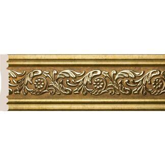 Interior moulding Cosca Wall border 100, antique gold, W1010/G327