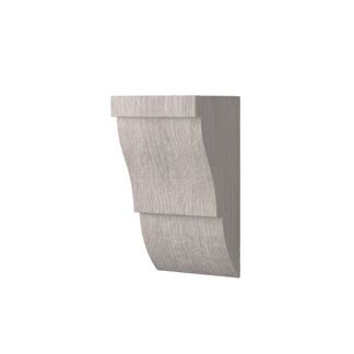 Corbels for faux timber 120х75mm, white wood